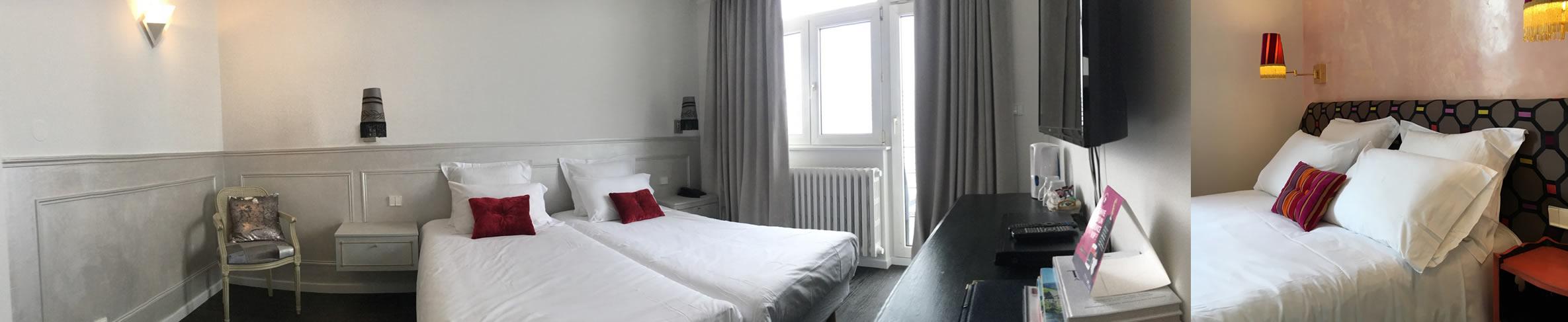 Chambre à l'hotel de l'ange